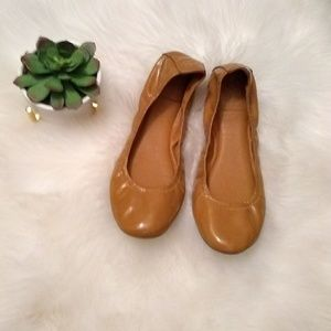 Tory  Burch ballet flats sz 11 leather